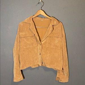 Shein Oversized Corduroy Jacket